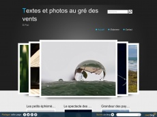 Textes et photos au gré des vents