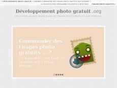 Développement photo gratuit !
