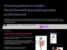 Shooting photo en studio Paris par photographe professionnel
